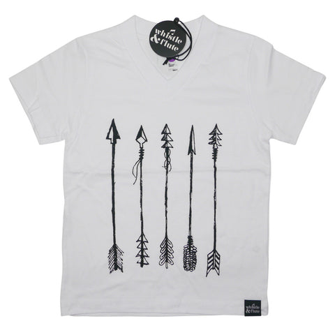 Whistle and Flute Arrow V-Neck Tee