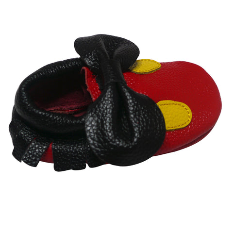 Mickey Mouse Baby Moccasins