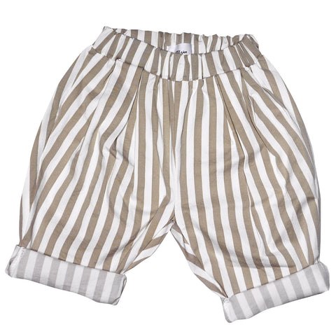 Parker Striped Twill Shorts