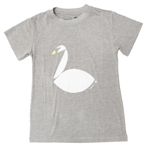 White Swan Ladies Tee (heather grey)