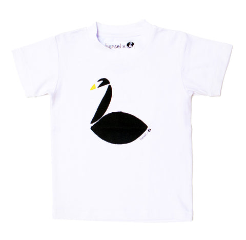 Black Swan Kids Tee (white)