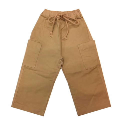 Draw string cargo pants