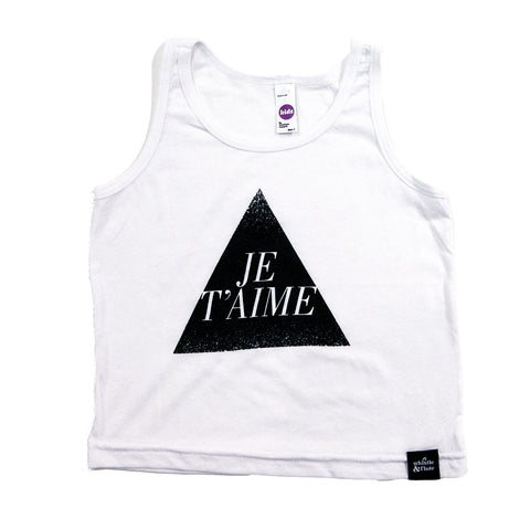 Whistle and Flute Je'Taime Tank