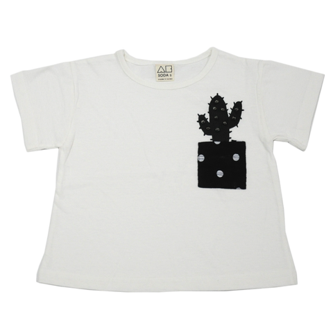 Mariachi Spiked Cactus Pocket Tee