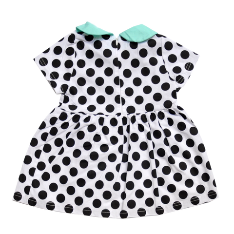 Nicoletta Polka Dot Dress