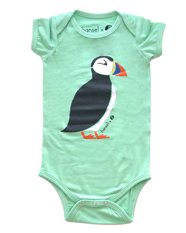 Puffin Mint Onesie