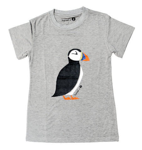 Puffin Adult Tee (grey)
