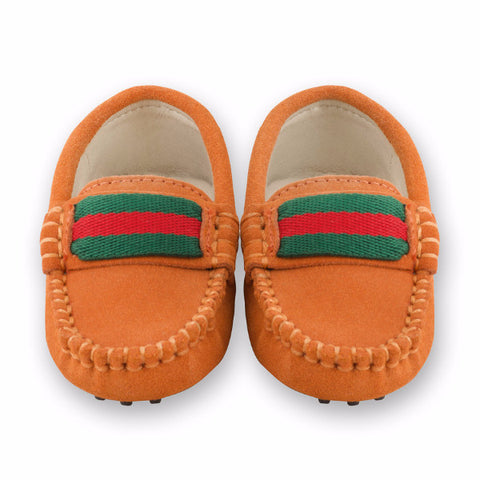 Oscar's for kids Milan Burnt Orange Loafers
