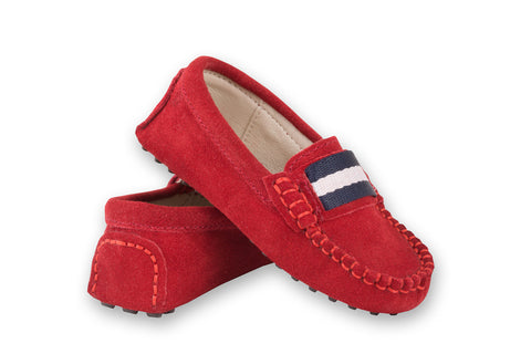 Oscar's for kids Milan Red Loafers