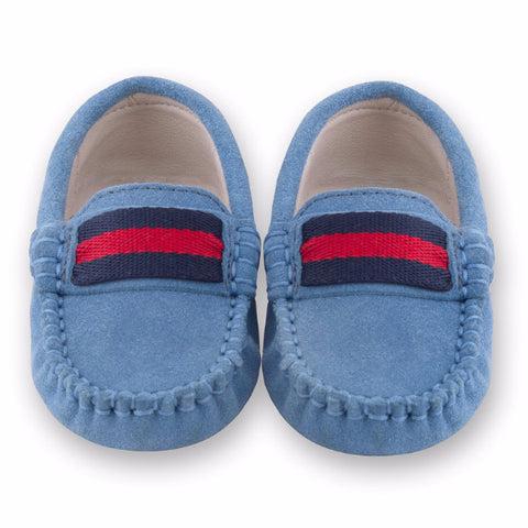 Oscar's for kids Milan Mid Blue Loafers