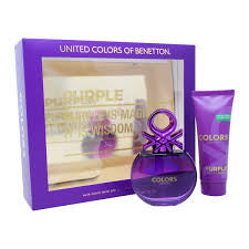 BENETTON COLORS PURPLE SET
