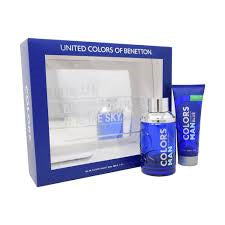 BENETTON COLORS MAN BLUE SET