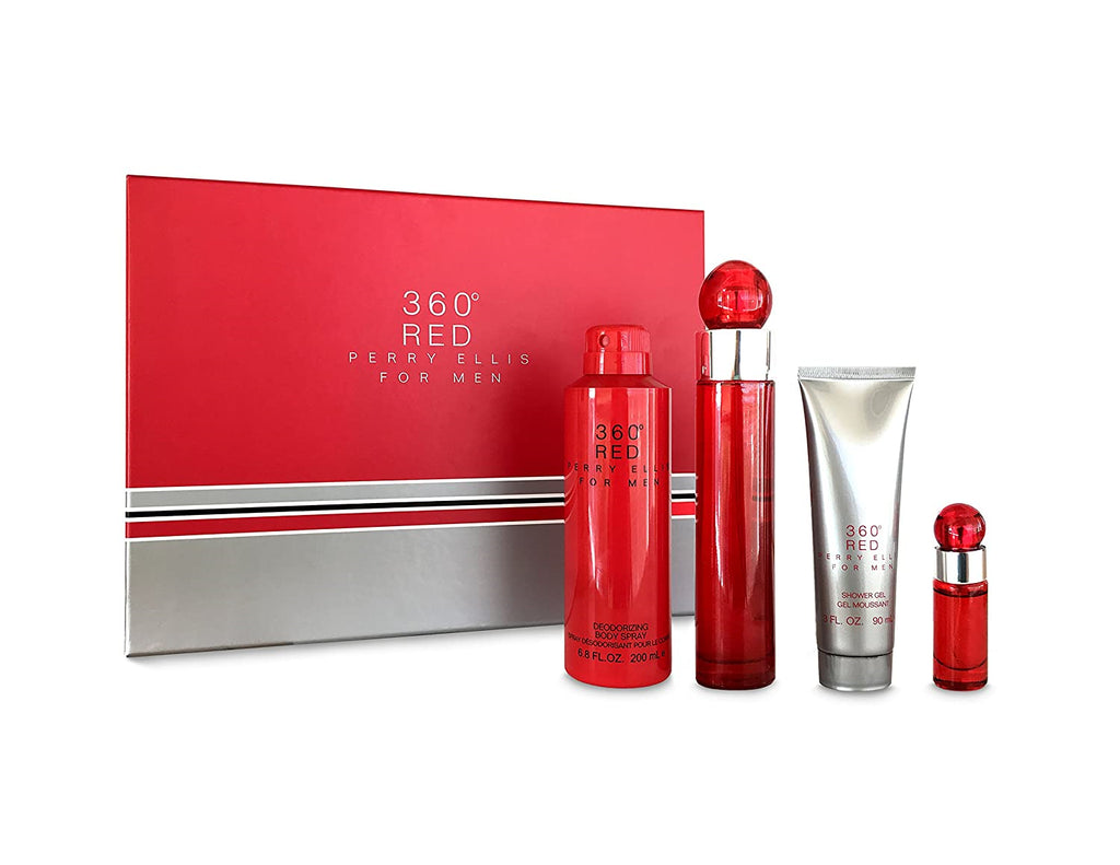 360 RED MEN SET