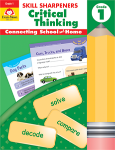 Skill Sharpeners Critical Thinking, Grade 1