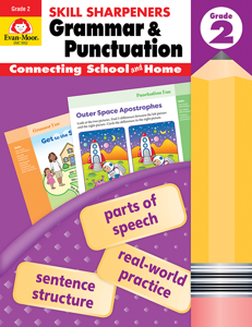 Skill Sharpeners Grammar and Punctuation, Grade 2