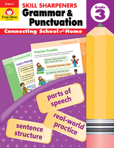 Skill Sharpeners Grammar and Punctuation, Grade 3