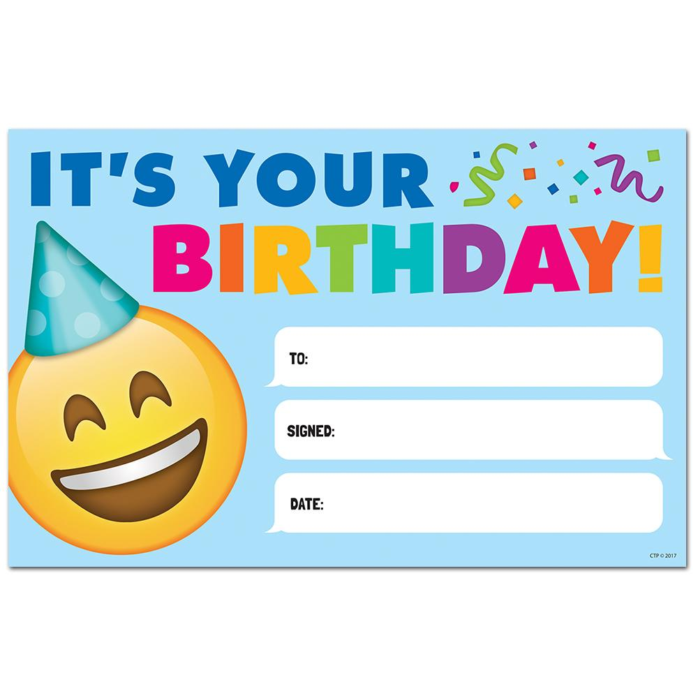 HAPPY BIRTHDAY, EMOJI FUN AWARDS