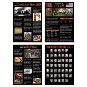 US History 4-Poster Set