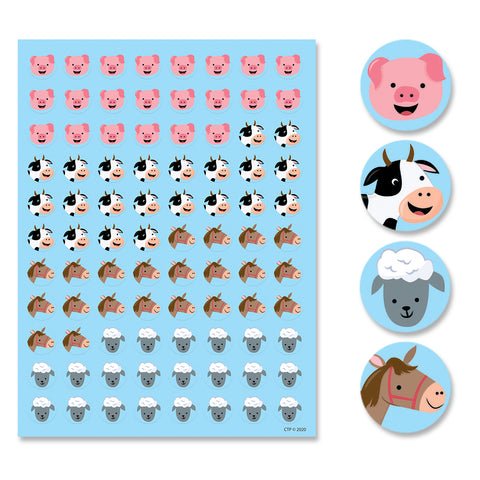 Farm Friends Hot Spots Stickers