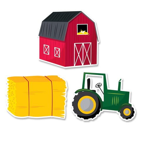 "Farm Friends Farm Fun 6"" Designer Cut-Outs"