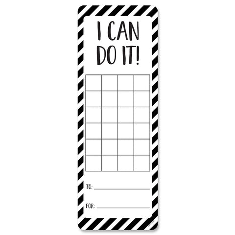 Core Decor I Can Do It! Incentive Card