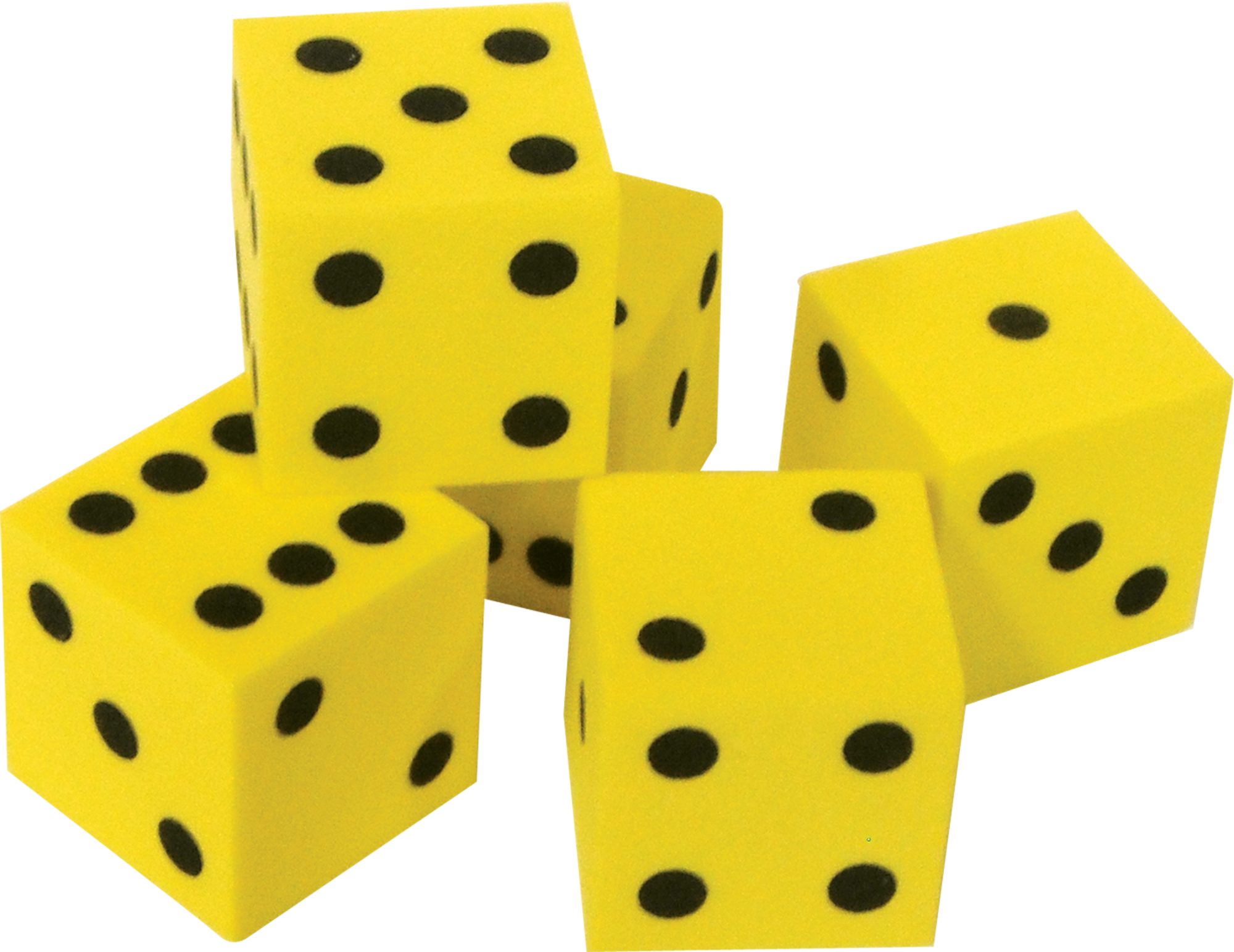 Foam Traditional Dice