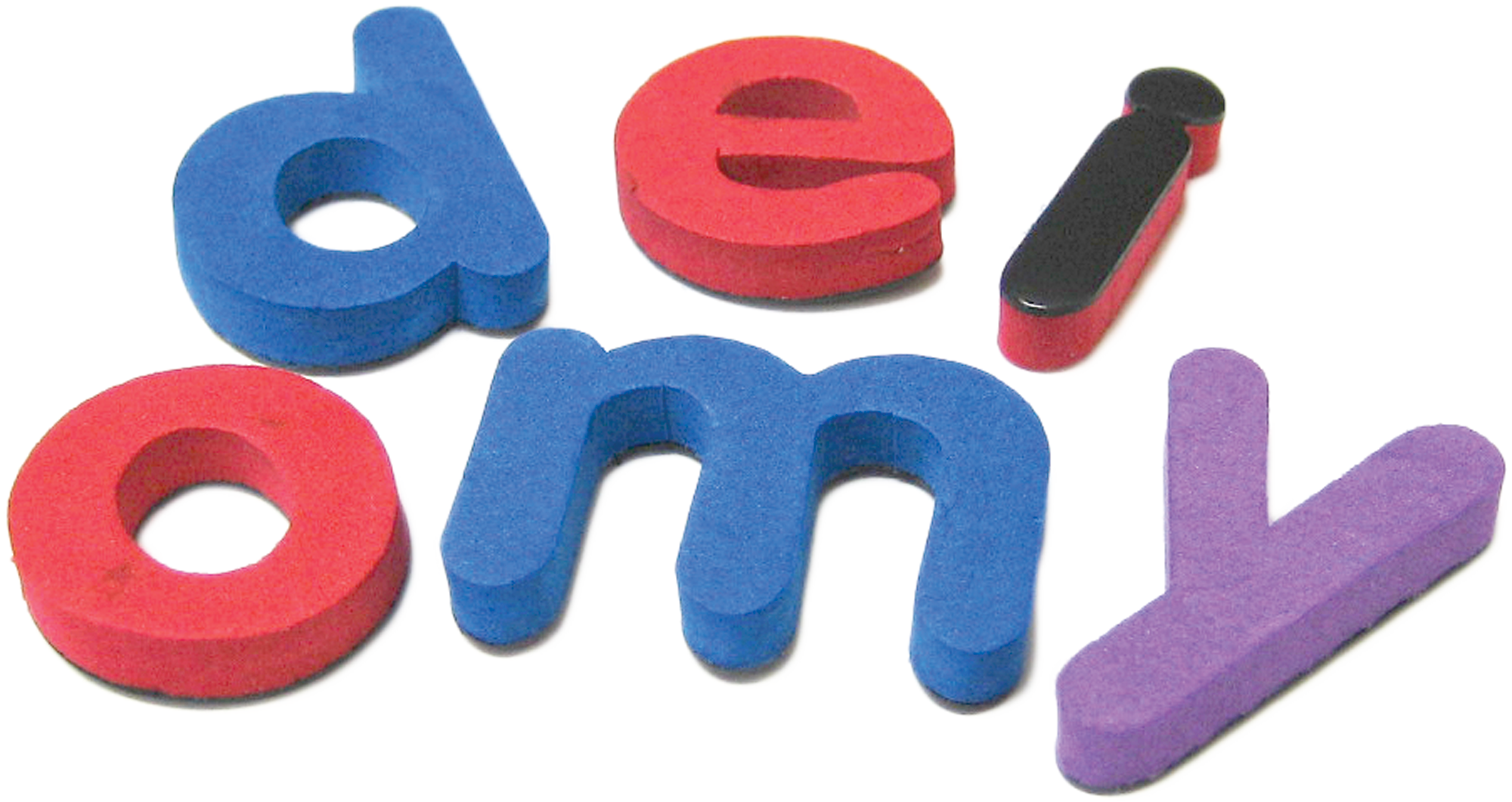 Magnetic Foam: Small Lowercase Letters