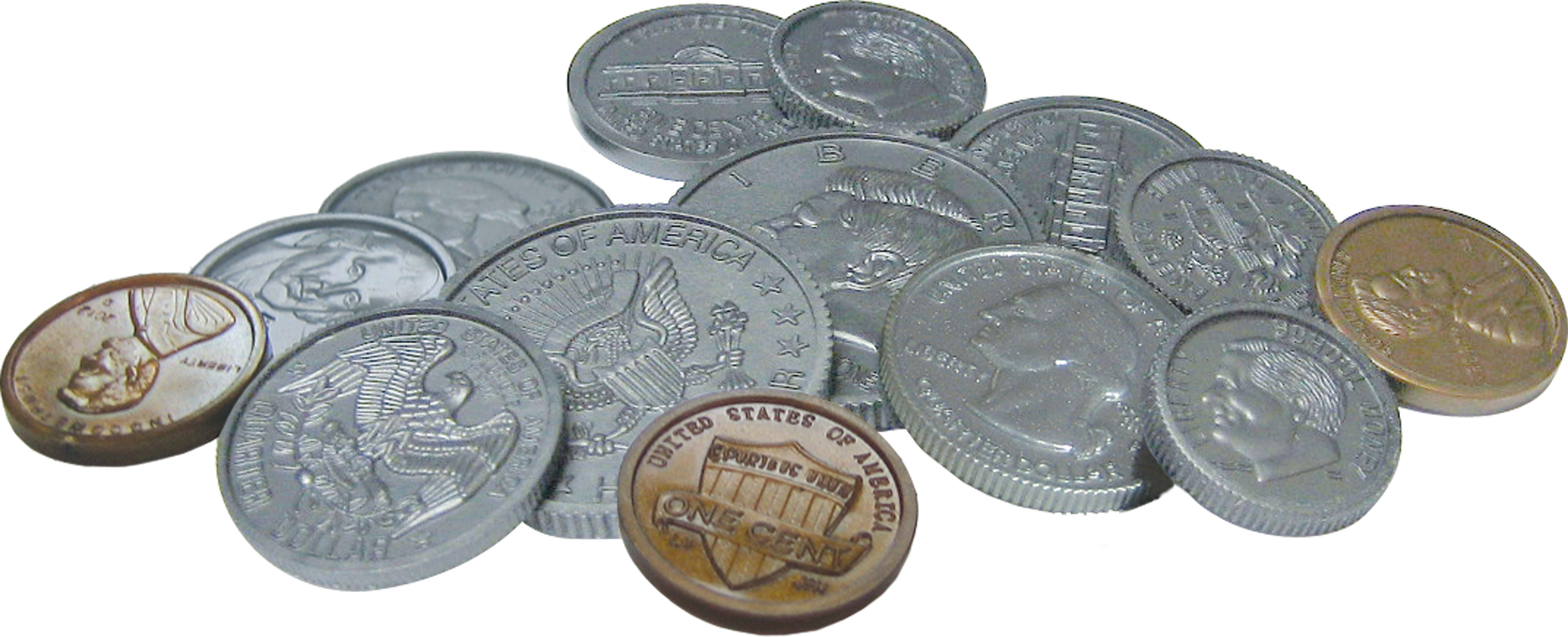 Play Money: Assorted Coins