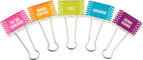 Classroom Management Large Binder Clips