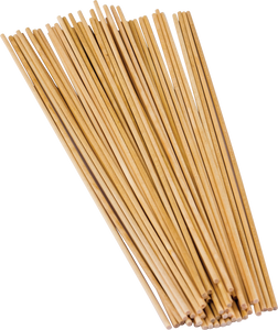 "STEM Basics: 1/8"" Wood Dowels - 100 Count"