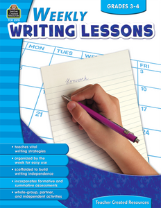 Weekly Writing Lessons (Gr. 3_4)