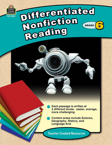 Differentiated Nonfiction Reading (Gr. 6)