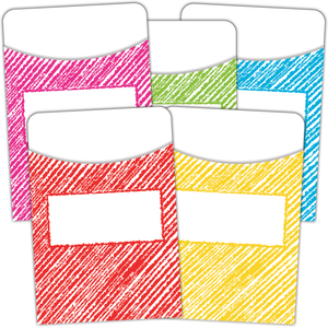 Scribble Library Pockets - Multi-Pack