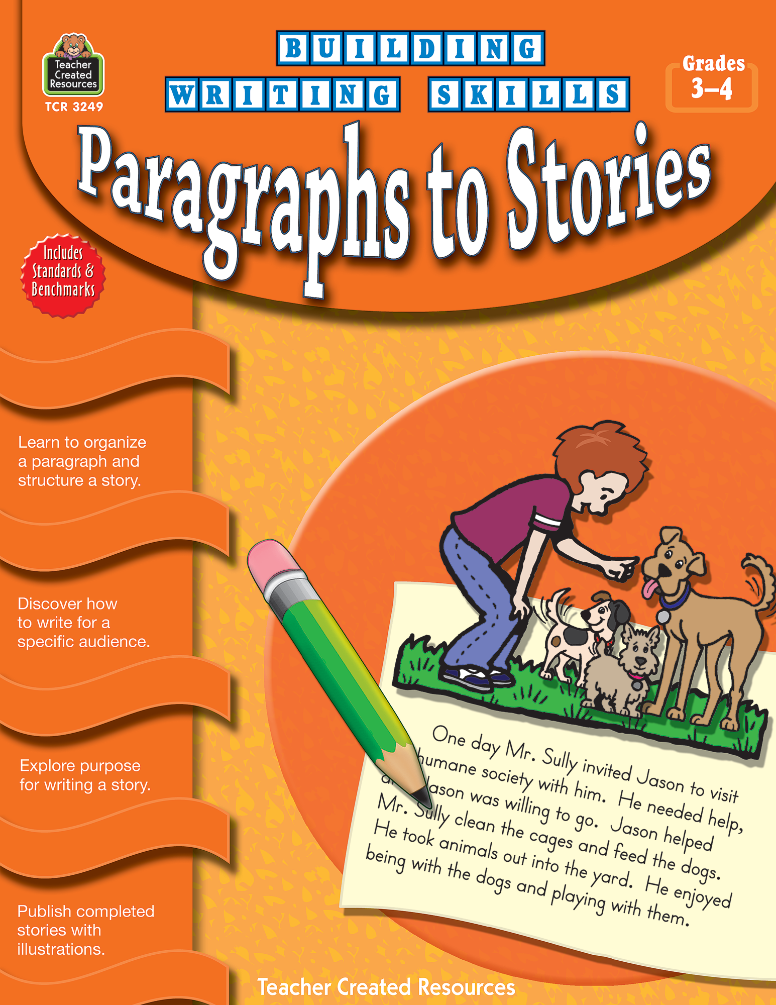 Building Writing Skills: Paragraphs to Stories (Gr. 3_4)