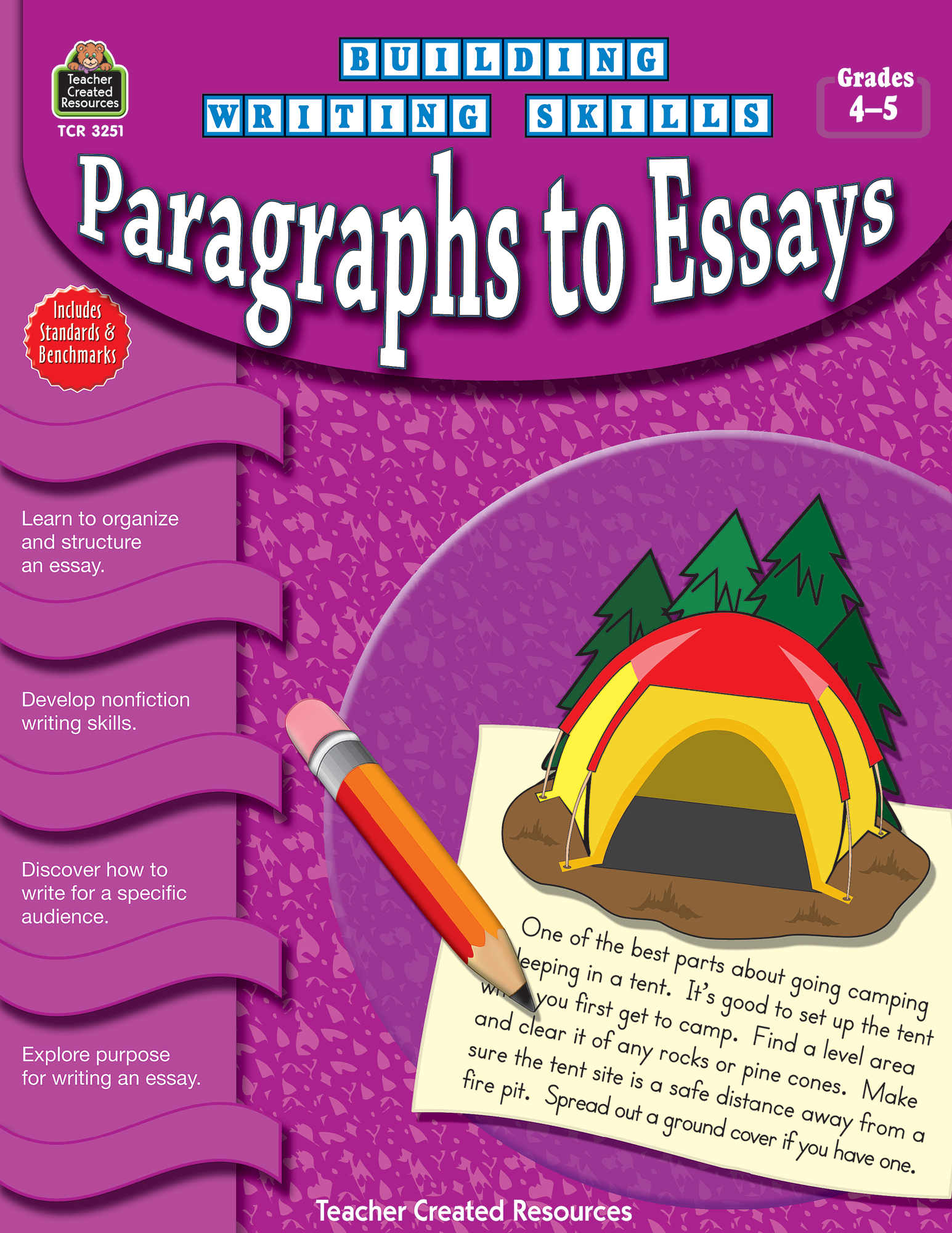 Building Writing Skills: Paragraphs to Essays (Gr. 4_5)