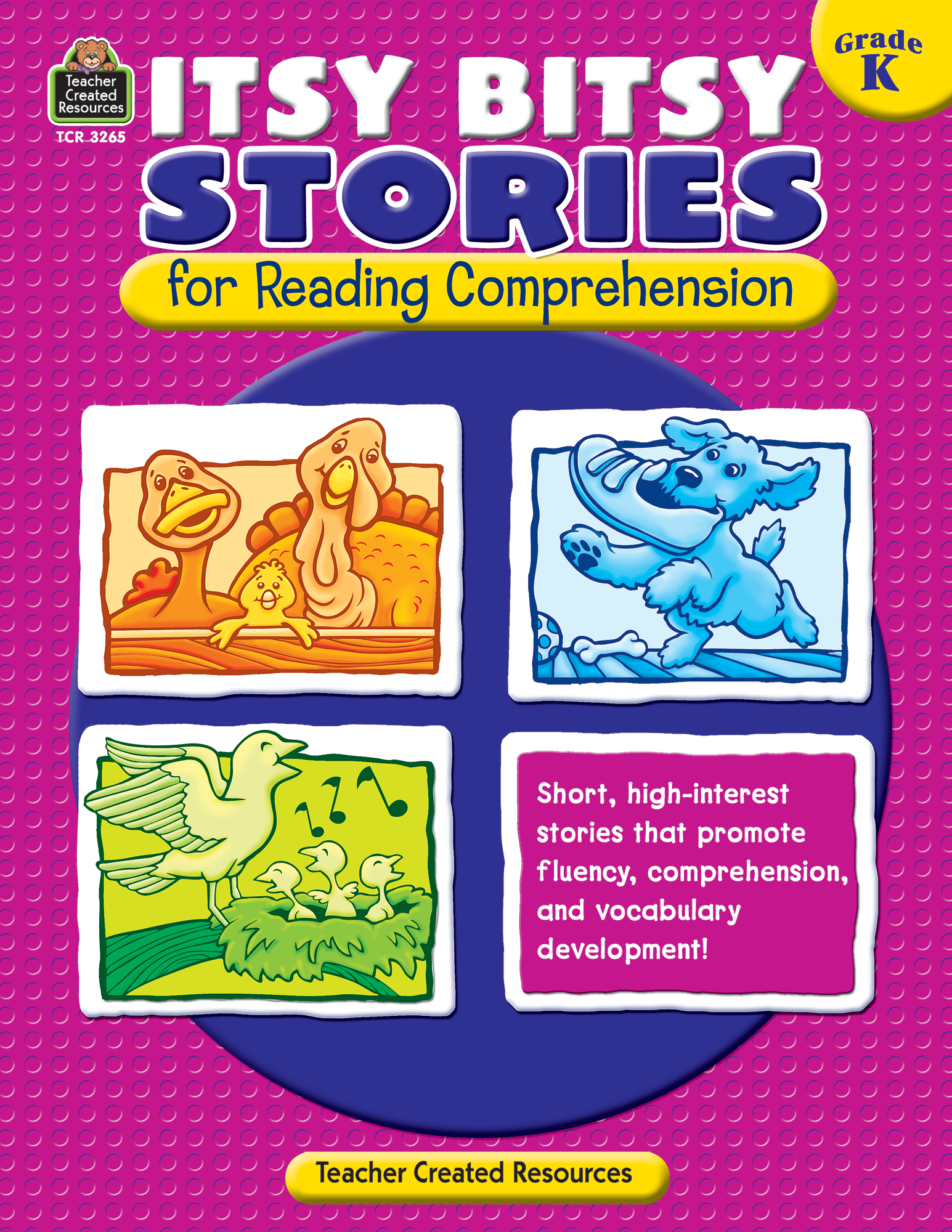 Itsy Bitsy Stories for Reading Comprehension (Gr. K)