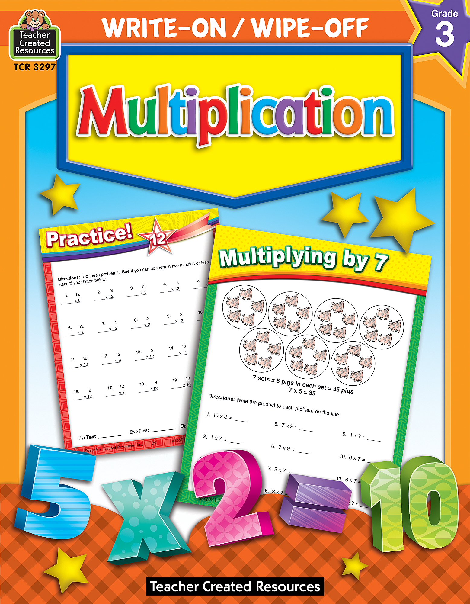 Write-On/Wipe-Off: Multiplication