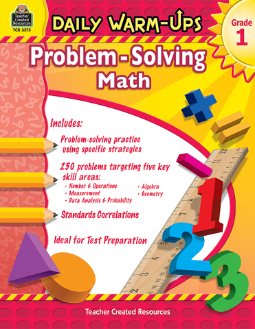 Daily Warm-Ups: Problem-Solving Math (Gr. 1)