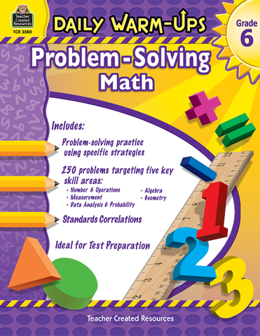 Daily Warm-Ups: Problem-Solving Math (Gr. 6)