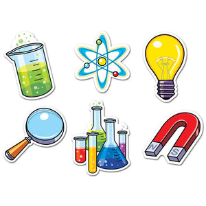 "SCIENCE LAB 6"" DESIGNER CUT OUTS"