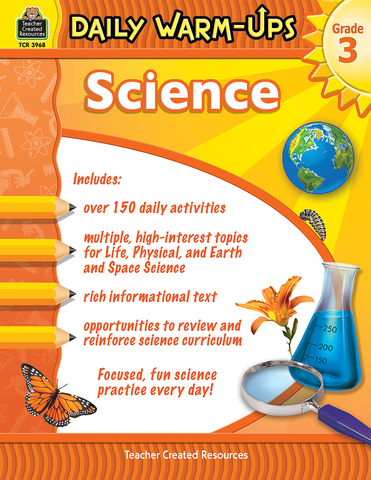 Daily Warm-Ups: Science (Gr. 3)