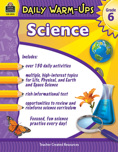Daily Warm-Ups: Science (Gr. 6)