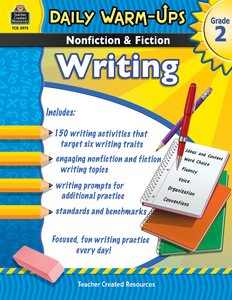 Daily Warm-Ups: Nonfiction & Fiction Writing (Gr. 2)