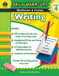 Daily Warm-Ups: Nonfiction & Fiction Writing (Gr. 4)