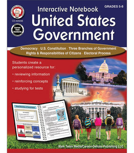 Interactive Notebook: US Govern