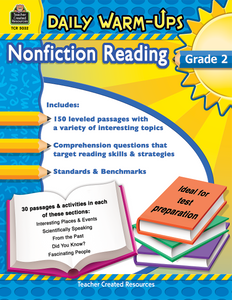 Daily Warm-Ups: Nonfiction Reading (Gr. 2)