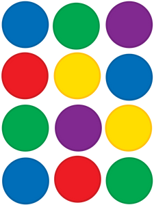 Colorful Circles Mini Accents