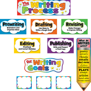 The Writing Process Mini Bulletin Board