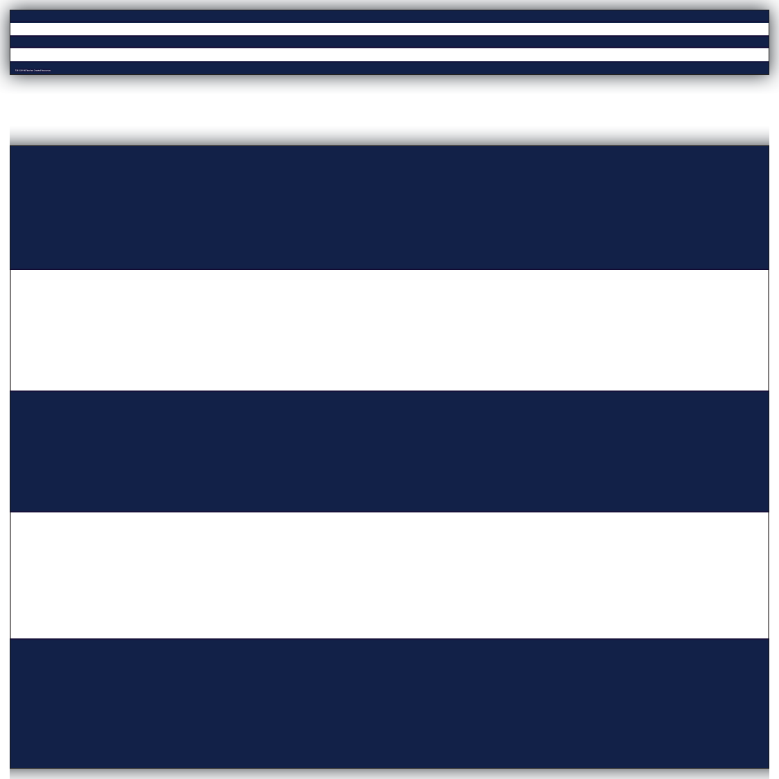 Navy Blue & White Stripes Straight Border Trim