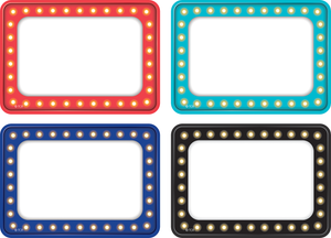 Marquee Name Tags/Labels - Multi-Pack